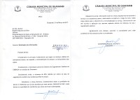 A Câmara cobra da Embasa estimativa e investimentos para esgotamento em Guanambi