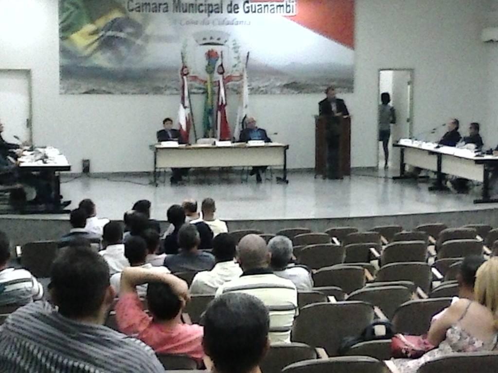 Câmara de Guanambi aprova doação de área para o SENAI