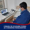 CÂMARA DE GUANAMBI FORMA AS COMISSÕES PERMANENTES.