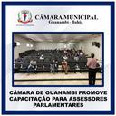 CÂMARA DE GUANAMBI PROMOVE CAPACITAÇÃO PARA ASSESSORES PARLAMENTARES