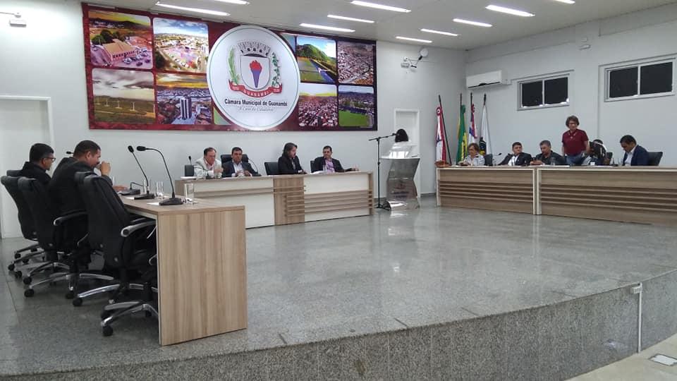 Câmara de Guanambi realiza primeira sessão extraordinária para discussão de projetos do executivo