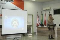 CDL e 17° Batalhão apresentam, na Sessão Legislativa, Projeto de ampliação de câmeras de segurança