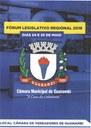 Guanambi irá sediar nos dias 24 e 25 de Maio, o Fórum Legislativo Regional.