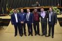 LEGISLATIVO GUANAMBIENSE MARCA PRESENÇA EM SESSÃO SOLENE DA CÂMARA DE DEPUTADOS.