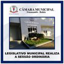LEGISLATIVO MUNICIPAL REALIZA A SESSÃO ORDINÁRIA