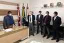 PRESIDENTE DA CÂMARA DE GUANAMBI EMPOSSA SUPLENTES.
