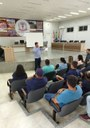 PRESIDENTE DA CÂMARA DE GUANAMBI REÚNE-SE COM SERVIDORES DO QUADRO FUNCIONAL DA CASA.