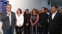 Presidente da Câmara Dr. Agostinho Lira, entregou conclusão das obras de reforma e ampliação da estrutura física da Câmara Municipal