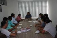 Reunião de trabalho para organização da audiência Pública sobre o trânsito
