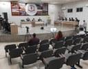 SESSÃO EXTRAORDINÁRIA CONTOU COM PARTICIPAÇÃO DE SECRETÁRIOS E CONSELHEIROS.
