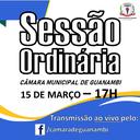 Sessão ORDINÁRIA  15 de Março 2021