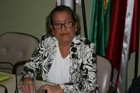 Vereadora Eponina Gomes presidiu sessão ordinária