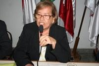 Vereadora  Eponina preside  Sessão Ordinária